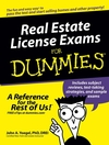 Real Estate License Exams For Dummies (0764576232) cover image