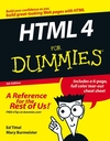 HTML 4 For Dummies, 5th Edition (0764599232) cover image