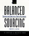 Balanced Sourcing: Cooperation and Competition in Supplier Relationships (0787944432) cover image