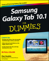 Samsung Galaxy Tab 10.1 For Dummies (1118228332) cover image