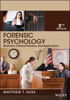 Forensic Psychology, 2nd Edition (1118554132) cover image