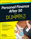 Personal Finance After 50 For Dummies, 2nd Edition (1119118832) cover image