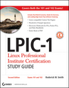 LPIC-1: Linux Professional Institute Certification Study Guide: (Exams 101 and 102), 2nd Edition  (0470404833) cover image