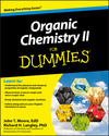 Organic Chemistry II For Dummies (0470770333) cover image