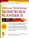 Adolescent Psychotherapy Homework Planner II (0471274933) cover image