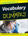 Vocabulary For Dummies (0764553933) cover image
