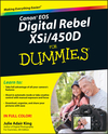 Canon EOS Digital Rebel XSi/450D For Dummies (1118052633) cover image