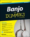 Banjo For Dummies: Book + Online Video and Audio Instruction, 2nd Edition (1118746333) cover image