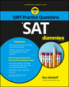 1,001 SAT Practice Problems For Dummies (1119215633) cover image