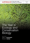 The Year in Ecology and Conservation Biology, Volume 1286 (1573318833) cover image