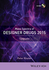 thumbnail image: Mass Spectra of Designer Drugs 2015