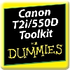 Canon T2i/550D Toolkit For Dummies App (WS100033) cover image