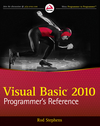 Visual Basic 2010 Programmer's Reference (0470499834) cover image