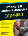 iPhone 3.0 Business Strategies For Dummies (0470576634) cover image