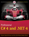 Professional C# 4.0 and .NET 4 (0470632534) cover image