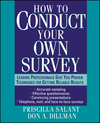 How to Conduct Your Own Survey (0471012734) cover image