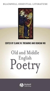 Old and Middle English Poetry (0631230734) cover image