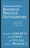 Human Resources Business Process Outsourcing: Transforming How HR Gets Its Work Done (0787971634) cover image