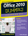 Office 2010 eLearning Kit For Dummies (1118107934) cover image