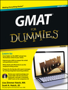 GMAT For Dummies, with CD, Premier 6th Edition (1118273834) cover image