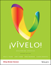 �V�velo!: Beginning Spanish, 2nd Edition (1119228034) cover image