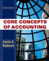 Core Concepts of Accounting, 2nd Edition (EHEP000334) cover image