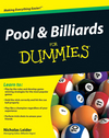 Pool and Billiards For Dummies (0470565535) cover image