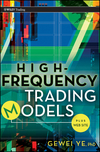 High Frequency Trading Models + Website (0470633735) cover image