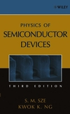 Physics of Semiconductor Devices, 3rd Edition (0471143235) cover image
