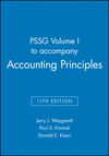 PSSG Volume I to accompany Accounting Principles, 11th Edition (1118342135) cover image
