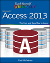 Teach Yourself VISUALLY Access 2013 (1118705335) cover image