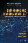 Data Mining and Learning Analytics: Applications in Educational Research (1118998235) cover image