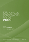 The Year in Ecology and Conservation Biology 2009, Volume 1162 (1573317535) cover image