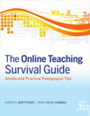 The Online Teaching Survival Guide: Simple and Practical Pedagogical Tips  (0470423536) cover image
