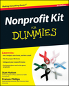 Nonprofit Kit For Dummies, 3rd Edition (0470595736) cover image