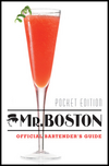 Mr. Boston: Bartender's Guide, Pocket Edition (0470882336) cover image