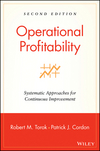 Operational Profitability: Systematic Approaches for Continuous Improvement, 2nd Edition (0471214736) cover image