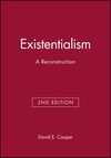 Existentialism: A Reconstruction, 2nd Edition (0631213236) cover image