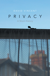 Privacy: A Short History (0745671136) cover image