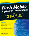 Flash Mobile Application Development For Dummies (1118146336) cover image