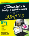 Adobe Creative Suite 6 Design and Web Premium All-in-One For Dummies (1118239636) cover image