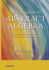 thumbnail image: Introduction to Abstract Algebra, Set, 4th Edition