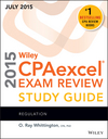 Wiley CPAexcel Exam Review 2015 Study Guide July: Regulation (1119119936) cover image