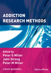 Addiction Research Methods (1405176636) cover image