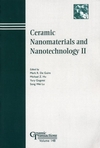 Ceramic Nanomaterials and Nanotechnology II (1574982036) cover image