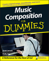 Music Composition For Dummies (0470289937) cover image