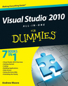 Visual Studio 2010 All-in-One For Dummies (0470539437) cover image