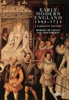 Early Modern England 1485 - 1714: A Narrative History (0631213937) cover image