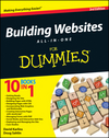 Building Websites All-in-One For Dummies, 3rd Edition (1118270037) cover image