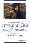 A Companion to Literature, Film and Adaptation (1118917537) cover image